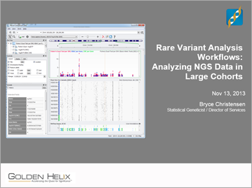 Rare Variant Analysis Workflows: Approaches to Analyzing NGS Data in Large Cohorts