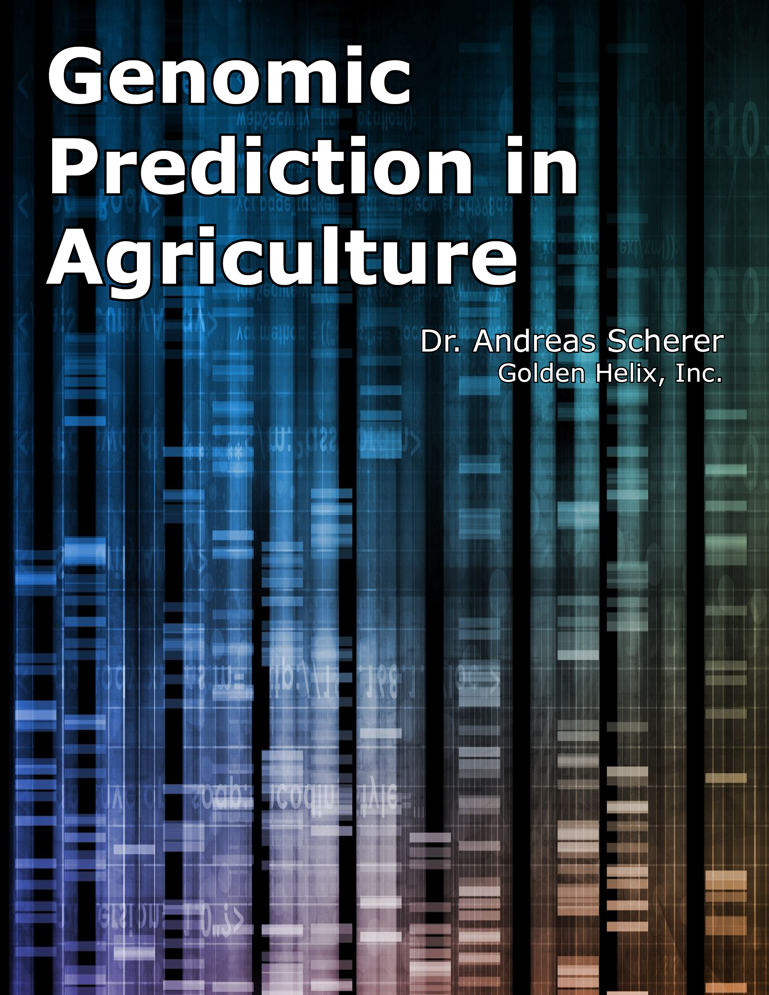 Genomic Prediction in Agriculture eBook Cover