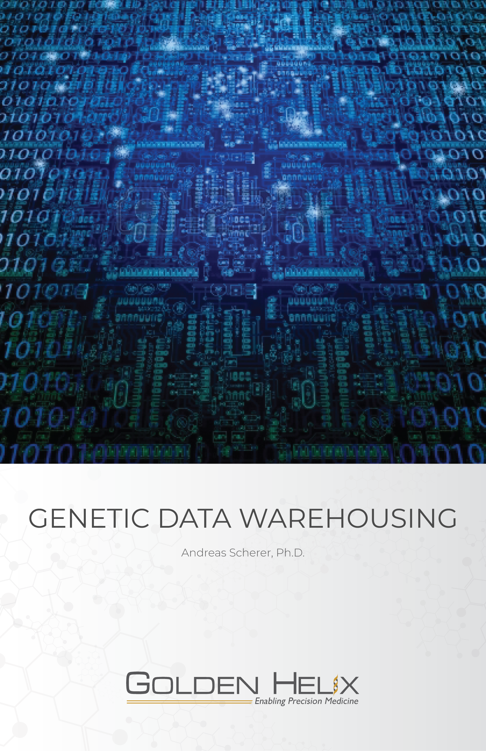Genetic Data Warehousing eBook Cover