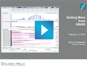Watch the Getting More from GWAS Webcast on YouTube