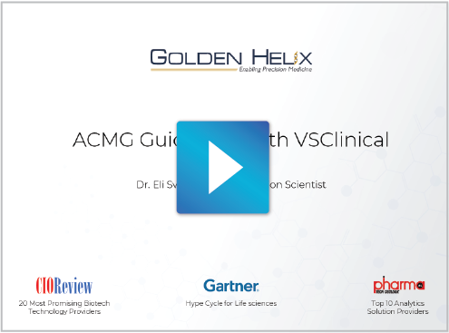 ACMG-Based Variant Classification with VSClinical