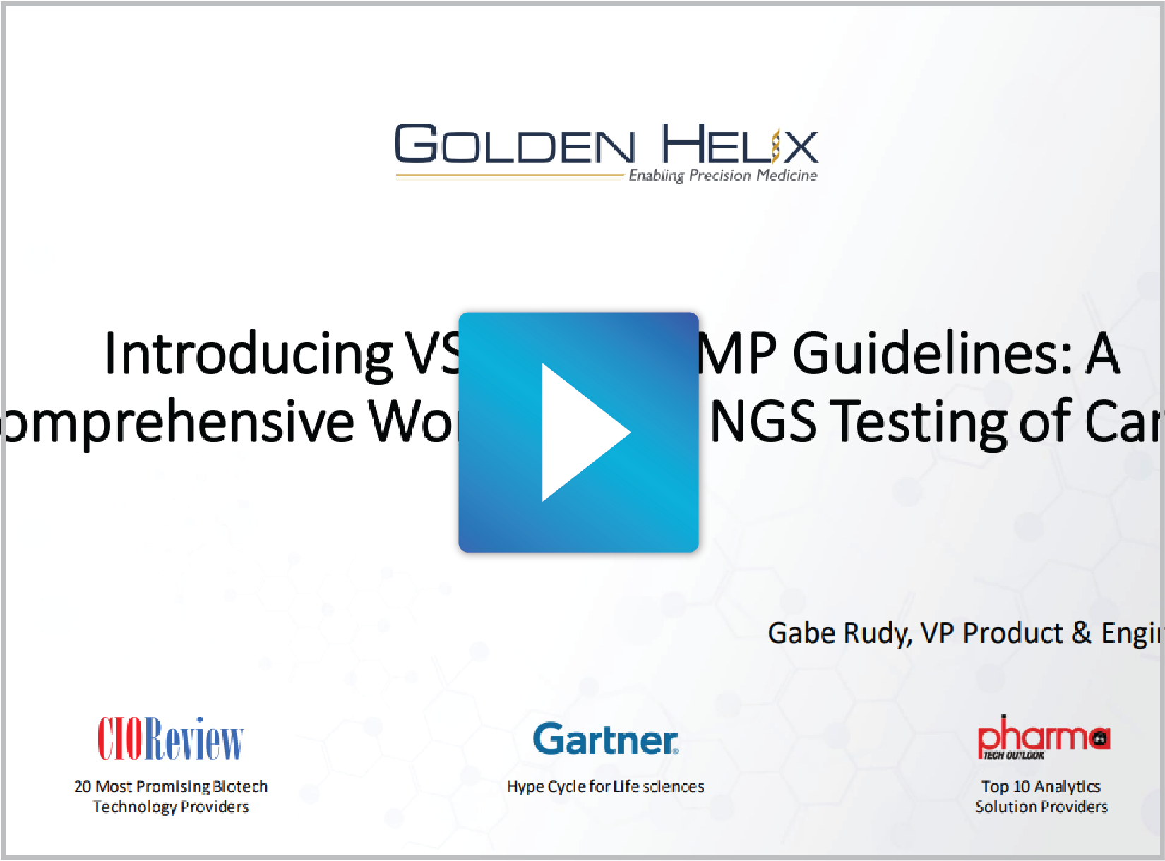 Introducing VSClinical AMP Guidelines: A Comprehensive Workflow for NGS Testing of Cancer