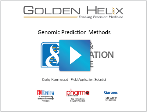 Genomic Prediction Methods in SVS