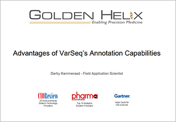 Advantages of VarSeq's Annotation Capabilities