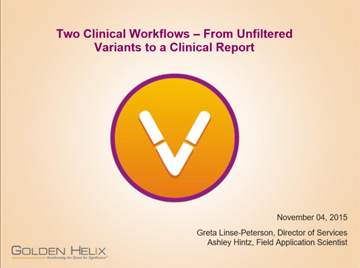 Two Clinical Workflows