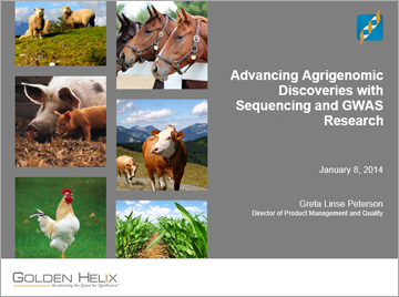 Advancing Agrigenomic Discoveries with Sequencing and GWAS Research