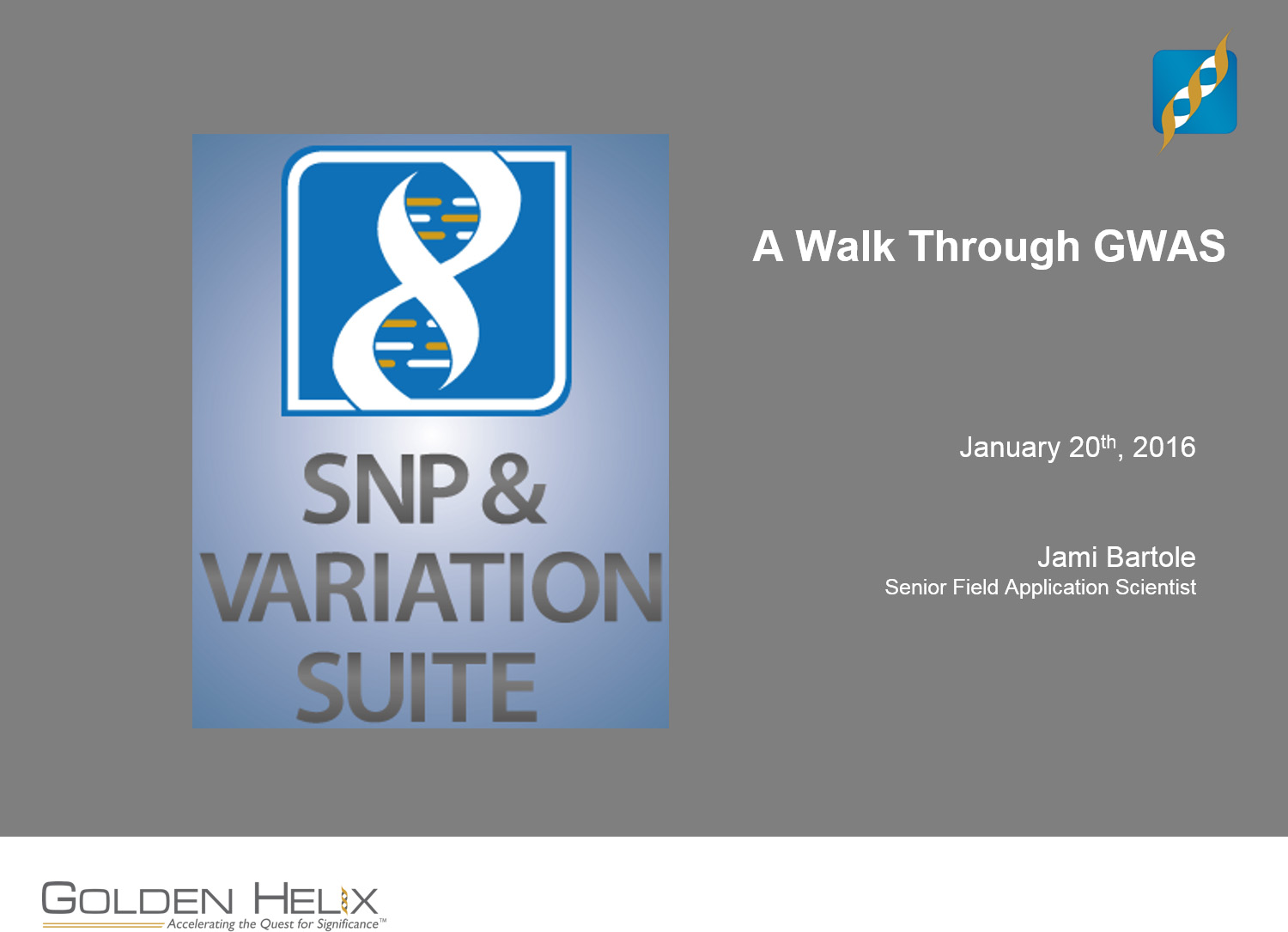 A Walk Through GWAS