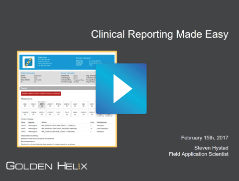 Clinical Reporting Made- asy.