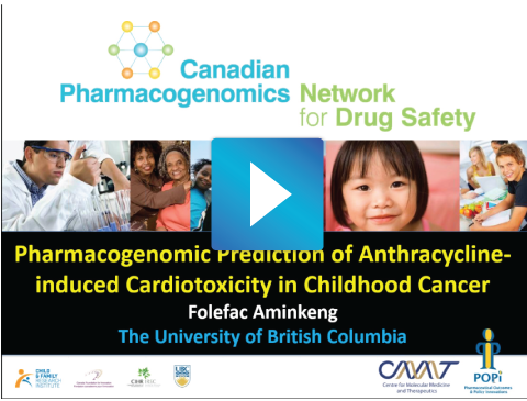 Pharmacogenomic Prediction of Antracycline-induced Cardiotoxicity