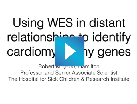 Using WES in Distant Relationships to Identify Cardiomyopathy Genes