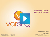 Authoring Clinical Reports