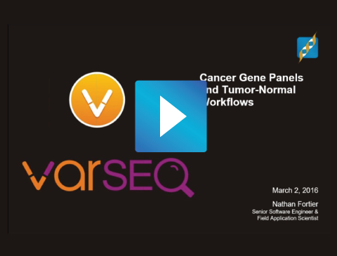 Cancer Workflows In VarSeq
