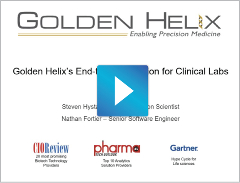 Golden Helix Clinical Solution