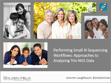 Performing Small-N Sequencing Workflows: Approaches to Analyzing Trio NGS Data